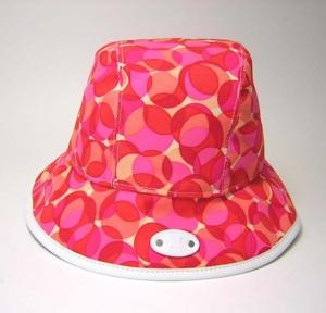セリーヌ   帽子 カレイドスコープ ハット (コーラル)