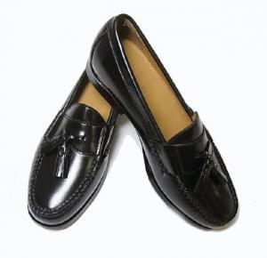 コールハーン 靴 メンズ ナイキ タッセルシューズ(ブラック)9.5(日本サイズ約27.5cm)