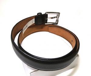 No.2 ベルト 長さ調整不可 AULDEN レザー (ブラック) 36インチ(ウエスト周り約88.5〜98.5cm)
