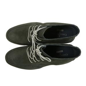 No.4 靴 メンズ チャッカ ブーツ (ブラック) 10(日本サイズ約28cm)