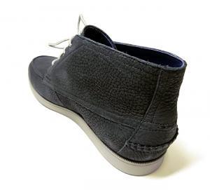 No.7 靴 メンズ チャッカ ブーツ (ブラック) 10(日本サイズ約28cm)