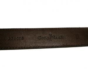 No.6 ベルト レザー ブラック 95(38インチ) 長さ調整不可 BROGUE
