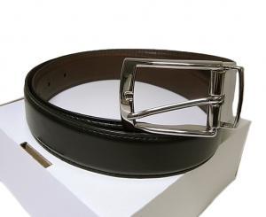 コールハーン  <訳あり・アウトレット>ベルト 長さ調整不可 回転バックル レザー 85cm (34インチ)