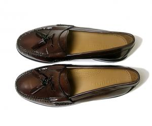 No.2 靴 メンズ アウトレット タッセル ローファー 10.5(日本サイズ約28.5cm)