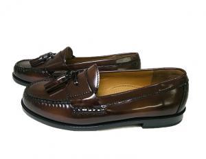No.3 靴 メンズ アウトレット タッセル ローファー 10.5(日本サイズ約28.5cm)