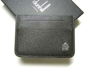 ダンヒル カードケース  ボードン  (ダークグレー)