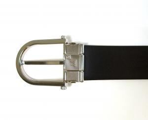 No.4 ベルト メンズ リバーシブル ビジネス フォーマル ブラック 長さ調整可能