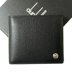 ダンヒル 財布 BOSTON ボストン二つ折 メンズ (ブラック)