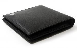 No.3 財布 BOSTON ボストン二つ折 メンズ (ブラック)