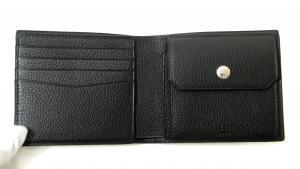 No.4 財布 BOSTON ボストン二つ折 メンズ (ブラック)