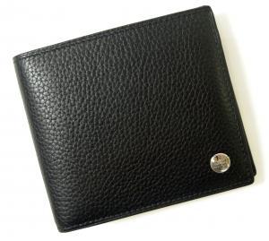 No.6 財布 BOSTON ボストン二つ折 メンズ (ブラック)