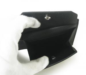 No.7 財布 BOSTON ボストン二つ折 メンズ (ブラック)