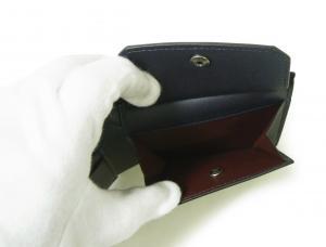 No.6 財布 リーブス 二つ折 メンズ (ネイビー)