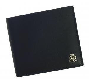 No.7 財布 リーブス 二つ折 メンズ (ネイビー)
