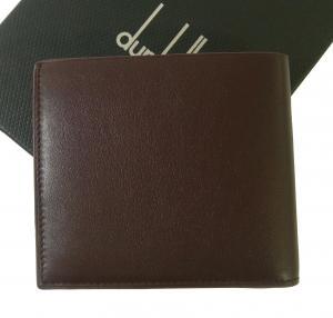 No.2 財布 リーブス 二つ折 メンズ (ボルドー)