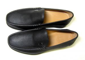 No.2 ビジネスシューズ 革靴(ブラック)8(日本サイズ約26.5-27cm)