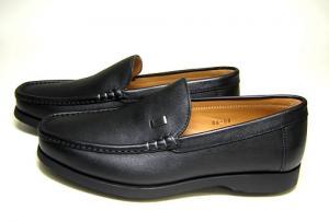 No.3 ビジネスシューズ 革靴(ブラック)8(日本サイズ約26.5-27cm)