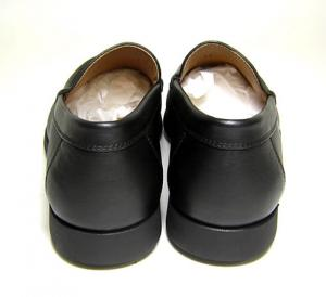 No.4 ビジネスシューズ 革靴(ブラック)8(日本サイズ約26.5-27cm)
