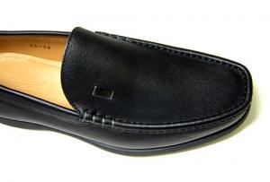 No.6 ビジネスシューズ 革靴(ブラック)8(日本サイズ約26.5-27cm)
