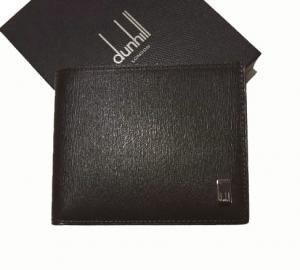 ダンヒル 財布 サイドカー 二つ折 (ダークブラウン)