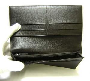 No.5 ディーエイトブラウン 二つ折長財布