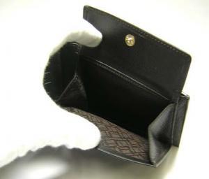 No.6 ディーエイトブラウン 二つ折財布