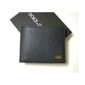 e9a089a2f9d5 ドルガバ ] 二つ折財布(グリジオフェロー) - DG-1109