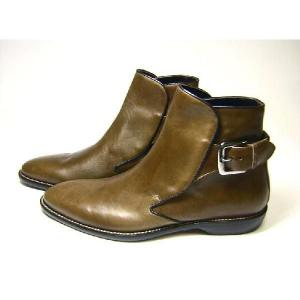 ドルチェ&ガッバーナ 靴 レザー ブーツ メンズ (モロ)