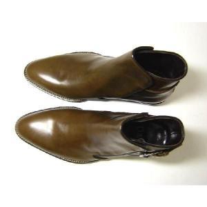 No.2 レザー ブーツ 靴 メンズ (モロ)