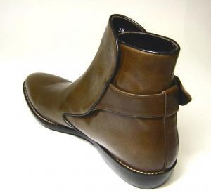 No.7 レザー ブーツ 靴 メンズ (モロ)