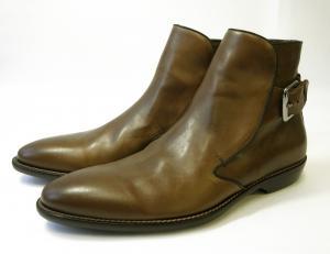 ドルチェ&ガッバーナ <訳あり・アウトレット>靴 ブーツ 馬革 メンズ レザー(モロ)40(日本サイズ約25cm)