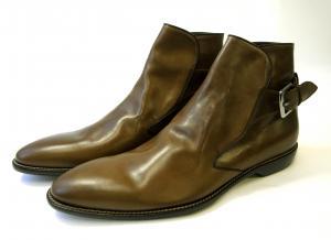 ドルチェ&ガッバーナ <訳あり・アウトレット>靴 ブーツ 馬革 メンズ レザー(モロ)45(日本サイズ約27.5cm)