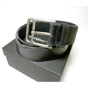 ドルチェ&ガッバーナ ベルト メンズ アンティーク レザー (ブラック) 85cm
