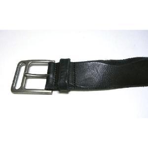 No.3 ベルト メンズ アンティーク レザー (ブラック) 85cm