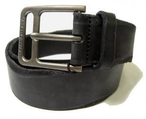 No.7 ベルト メンズ アンティーク レザー (ブラック) 85cm