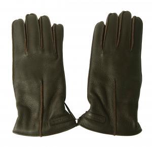 ドルチェ&ガッバーナ 手袋 メンズ ディアスキン 8サイズ (ダークブラウン)