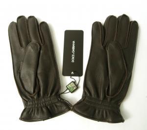 No.2 手袋 メンズ ディアスキン 8サイズ (ダークブラウン)