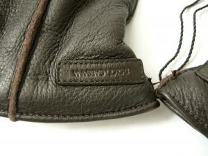 No.3 手袋 メンズ ディアスキン 8サイズ (ダークブラウン)
