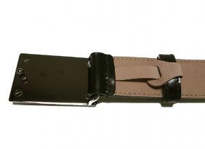 No.4 レザーベルト(ブラック)95cm