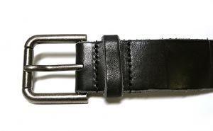 No.3 ベルト メンズ ブロック デザイン レザー 95cm