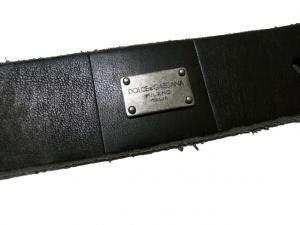 No.6 ベルト メンズ ブロック デザイン レザー 95cm