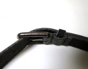 No.8 ベルト メンズ ブロック デザイン レザー 95cm