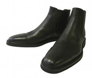 ドルチェ&ガッバーナ ショート ブーツ 靴 メンズ マルテラート ヴィテロ レザー