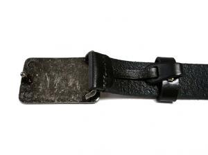 No.4 ベルト メンズ レザー(ブラック)95cm