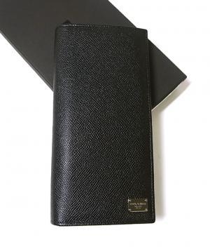 ドルチェ&ガッバーナ 財布 ドーフィン型押しレザー 二つ折長財布 MainPhoto
