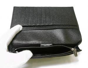 No.7 財布 ドーフィン型押しレザー 二つ折長財布