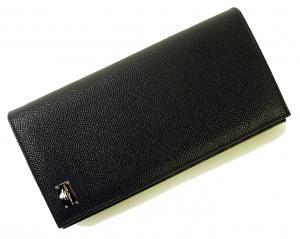 No.8 財布 ドーフィン型押しレザー 二つ折長財布
