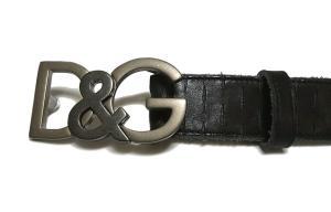 No.3 ベルト メンズ エンボスレザー (ブラック) 95cm