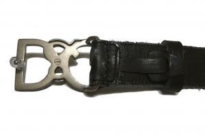 No.4 ベルト メンズ エンボスレザー (ブラック) 95cm