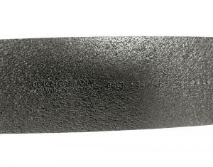 No.6 ベルト レザー ヴィンテージ 加工 オーバル バックル (ブラック) 95cm